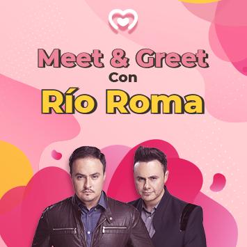Gana un Meet&Greet para conocer a Rio Roma