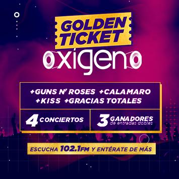 Golden Ticket Oxígeno