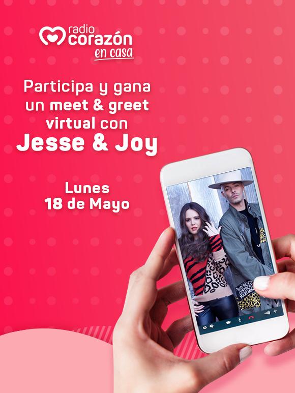 Mee&Greet Virtual con Jesse y Joy