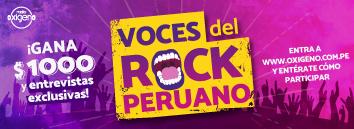 Voces del rock peruano