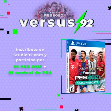 ¡Gánale a Mateo y al Cholo Mena en PES 2020 Mobile y llévate PES 2021 para PS4!