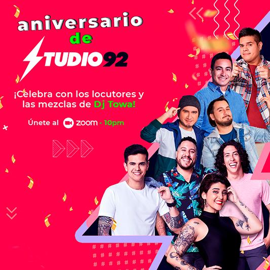 Aniversario Studio92