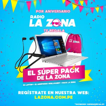 Super Pack de Radio La Zona