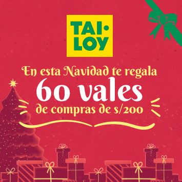 ¡Esta Navidad, gana un vale de compras de 200 soles en Tai Loy!